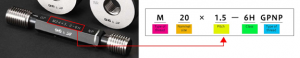 Thread Plug Gauge หรือเกจวัดเกลียว  สอบเทียบเครื่องมือวัด Calibration Lab_06